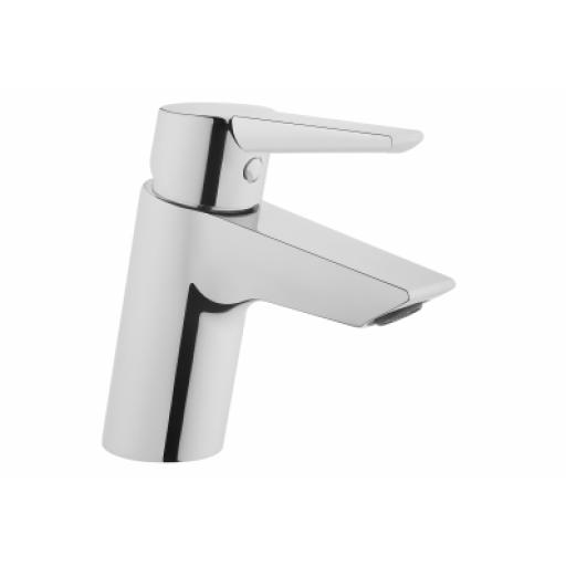 Vitra Solid S Basin Mixer, Chrome