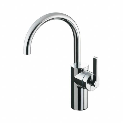 Ideal Standard Silver Single Lever Tall Basin Mixer