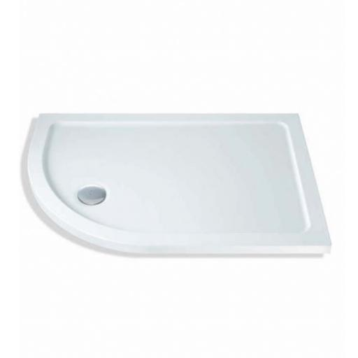 MX Elements 1200x800mm Offset Quadrant Tray