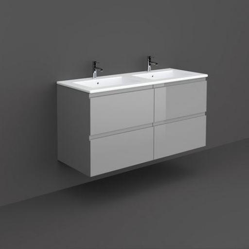 RAK Joy Wall Hung Vanity Unit 120cm Urban Grey