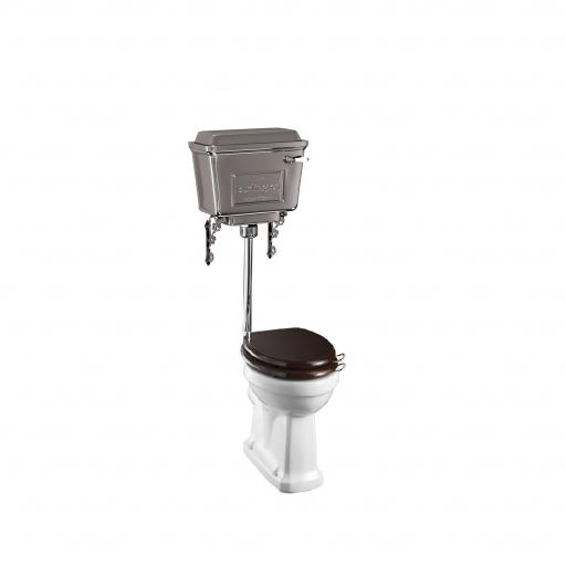 Burlington Standard low level WC with 440 chrome cistern