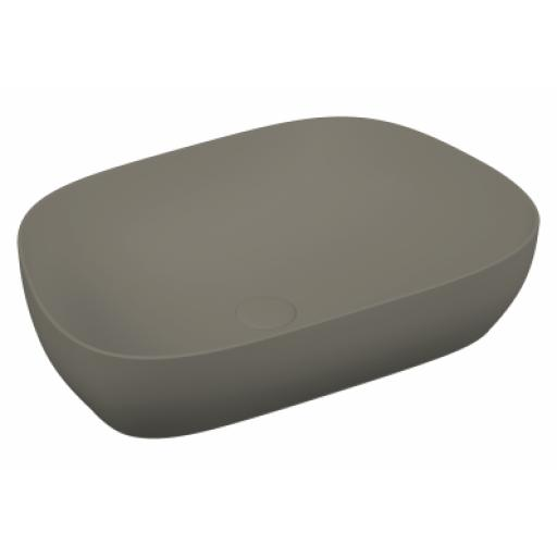 Vitra Outline Tv Bowl Washbasin, Matte Mink