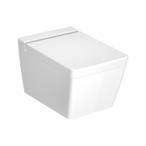 Vitra T4 Wall-Hung WC Pan, Rim-Ex