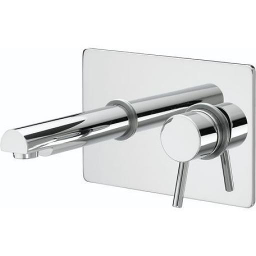 Bristan Prism Single Lever Wall Mounted Basin Mixer
