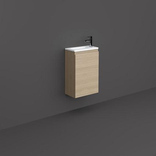 Rak Joy Wall Hung Vanity Unit Scandinavian Oak
