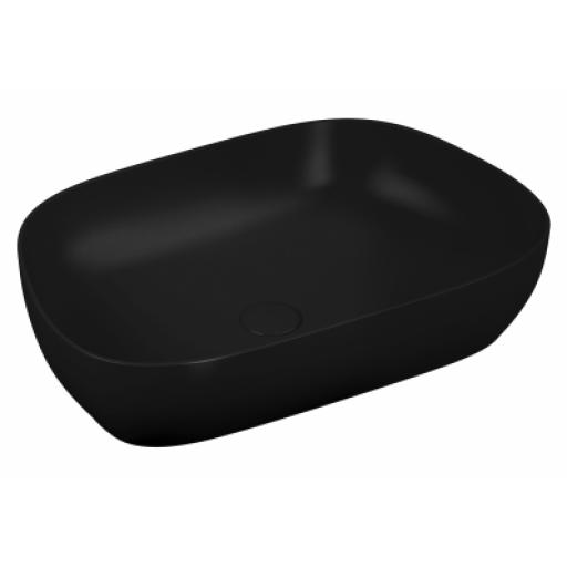 Vitra Outline Tv Bowl Washbasin, Matte Black