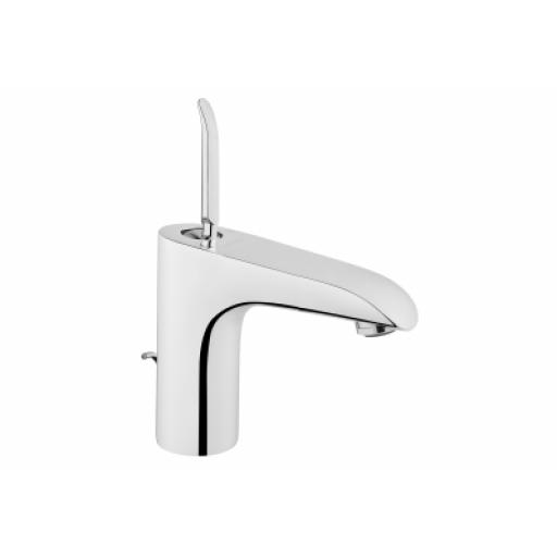 Vitra T4 Basin Mixer with Pop-Up Waste