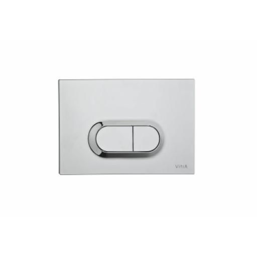 Vitra Loop O Mechanical Control Panel, Stainless Steel