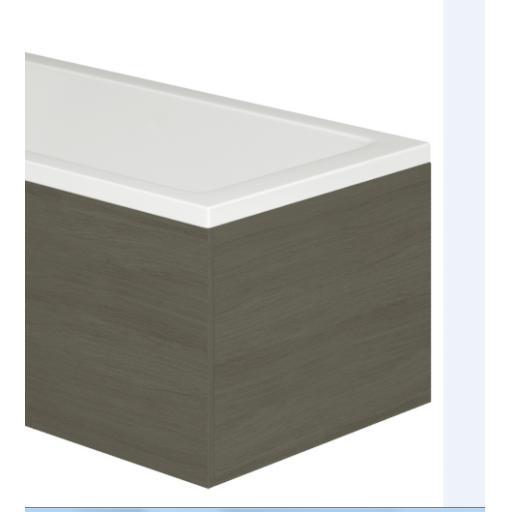 Vermont 750mm MDF Bath End Panel & Plinth