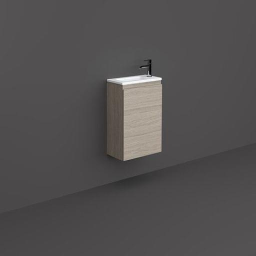 RAK Joy Wall Hung Vanity Unit Grey Elm