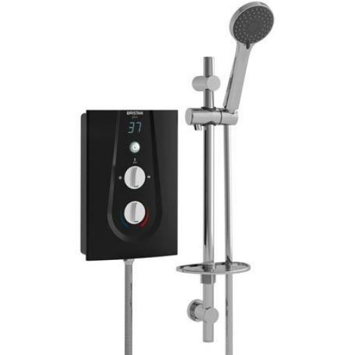 Bristan Glee Electric Shower 8.5KW- Black