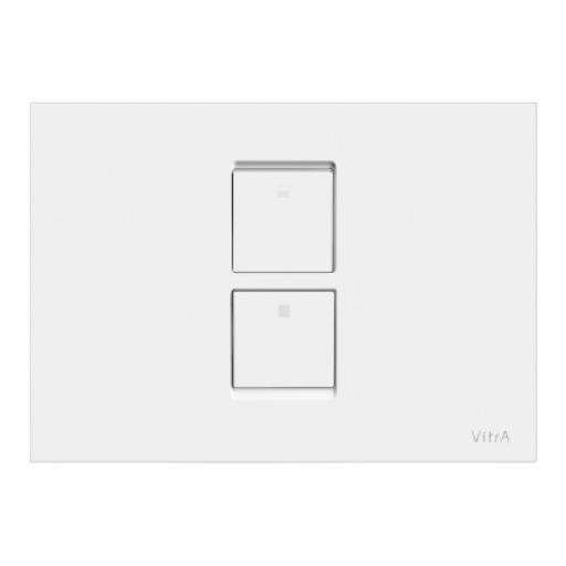 Vitra Twin² Pneumatic Control Panel, High Gloss White