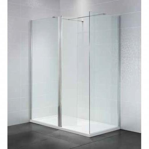 Identiti2 1100mm Wet Room 8mm Glass Panel