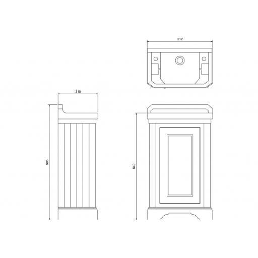 https://www.homeritebathrooms.co.uk/content/images/thumbs/0010287_burlington-cloakroom-basin-unit-with-door-classic-grey