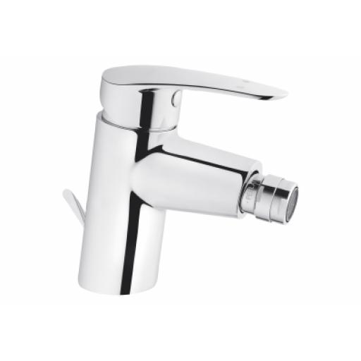 Vitra Dynamic S Bidet Mixer with Pop-Up Waste