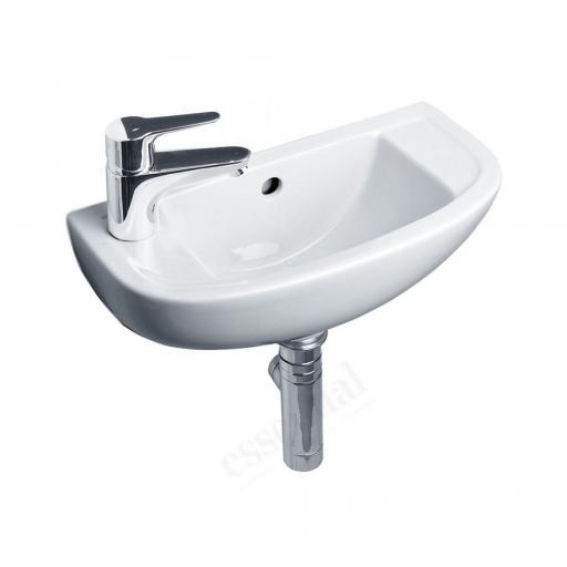 Lily 450mm Slim Depth Basin LH