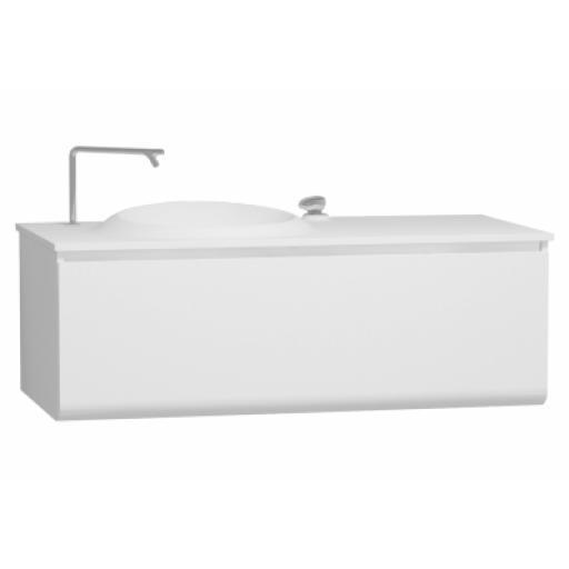 Vitra Istanbul Washbasin Unit, Including Infinit Washbasin, 120 cm, White