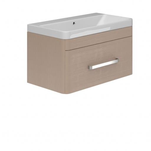 Vermont Wall Hung 800mm 1 Drawer Basin Unit