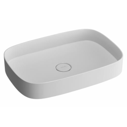Vitra Memoria Oblong Countertop basin 63 cm