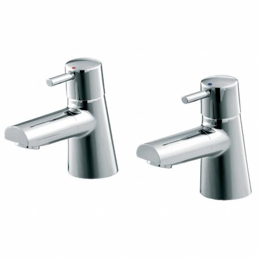 Ideal Standard Cone Bath Pillar Taps