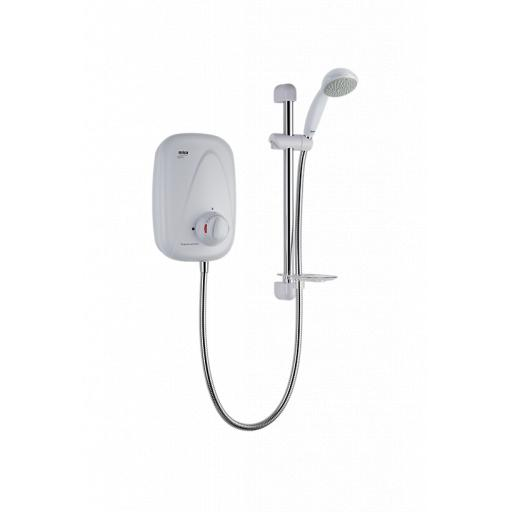 Mira Vigour Thermostatic - White/Chrome