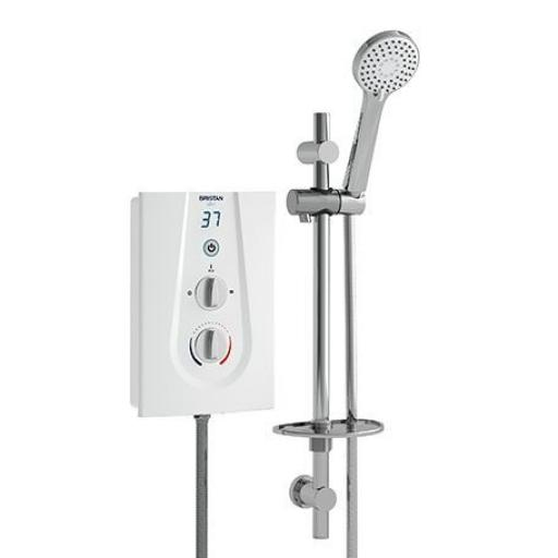 Bristan Glee Electric Shower 10.5KW- White