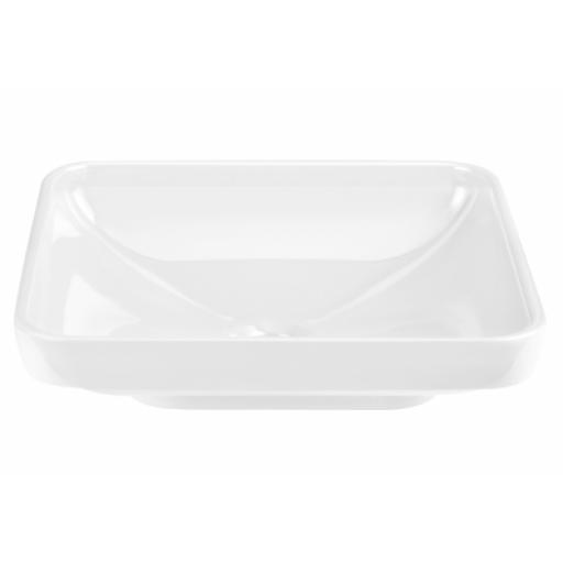 Vitra Water Jewels Rectangular Bowl, 60 cm, White