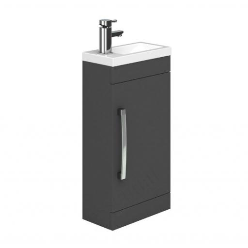 Nevada 400mm Cloakroom Basin Unit