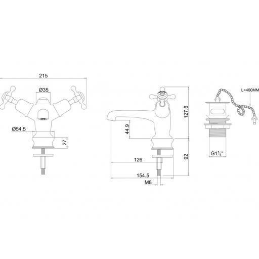https://www.homeritebathrooms.co.uk/content/images/thumbs/0009967_burlington-claremont-regent-basin-mixer-with-plug-and-