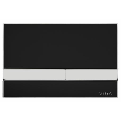 Vitra Select Mechanical Control Panel, Glass Black