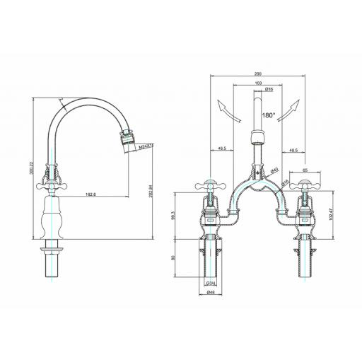 https://www.homeritebathrooms.co.uk/content/images/thumbs/0010004_burlington-2-tap-hole-arch-mixer-with-curved-spout-200