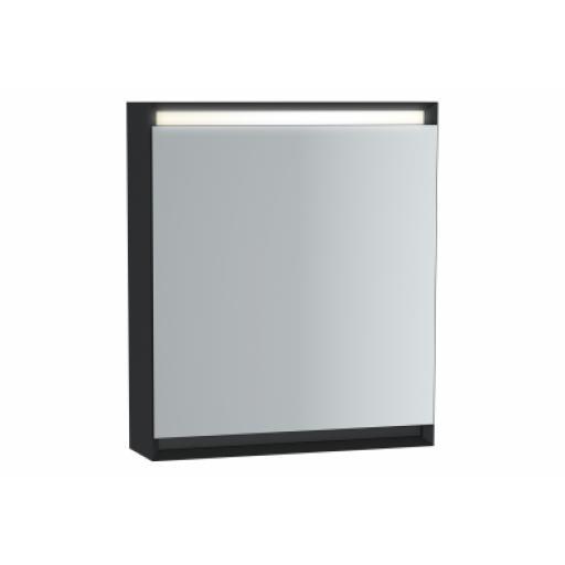 Vitra Frame Mirror Cabinet 60 cm, Matte Black, Left