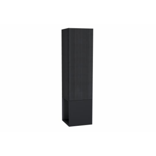 Vitra Frame Tall Unit, with Open Box, 40 cm, Matte Black, Left