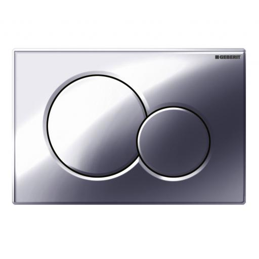 Geberit Sigma01 Dual Flush Plate - Gloss Chrome