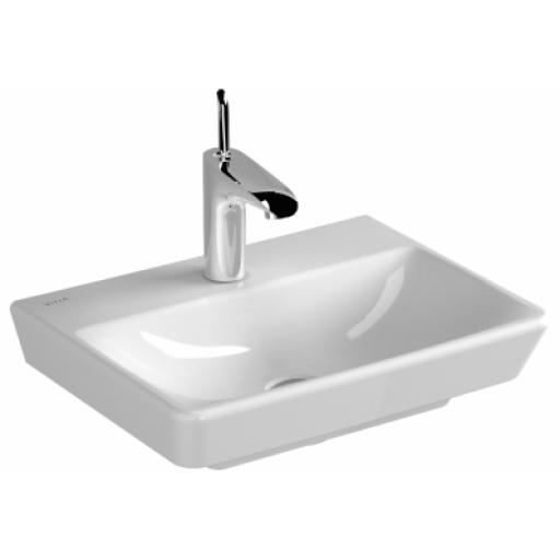 Vitra T4 Washbasin, without Overflow Hole, 45 cm