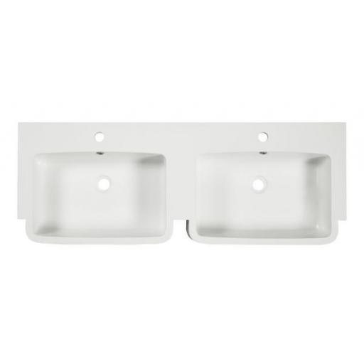 Tavistock Courier 1200mm Isocast Basin-Double
