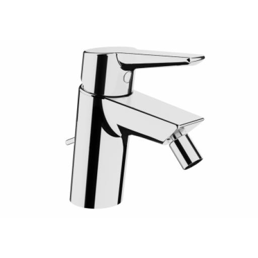 Vitra Solid S Bidet Mixer, (With Pop-Up), Chrome