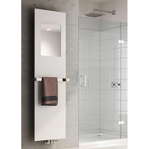 Reina Radiator Albi Chrome Towel Bar 530mm