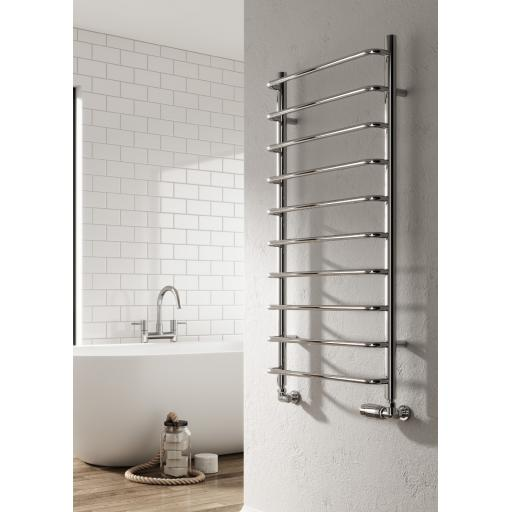 Reina Radiator Alinao 1000mm X 500mm Chrome