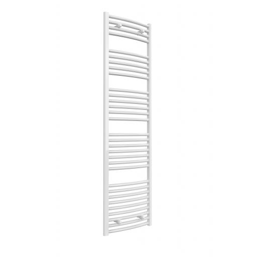 Reina Radiator Diva 500 X 1200mm Towel Radiator White Flat