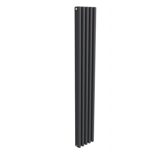 Reina Radiator Alco Aluminium anthracite Horizontal 600 x 1000mm
