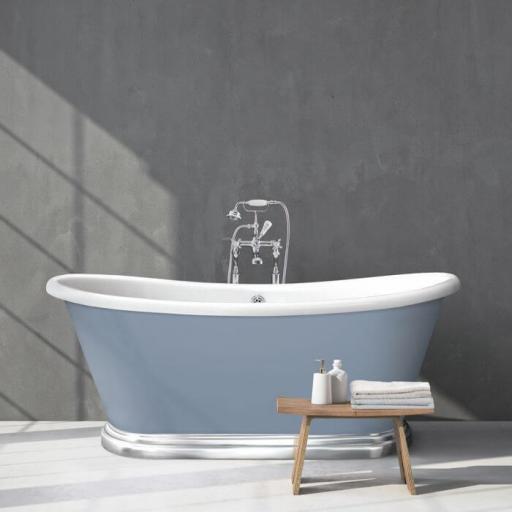 The Boat Bath Aluminium Plinth