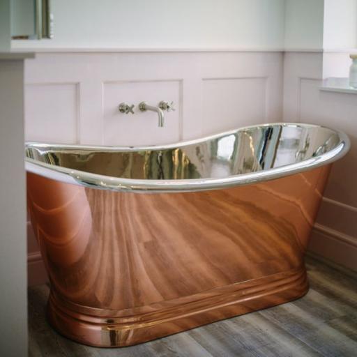 The Copper/Nickel Boat Bath 1500mm