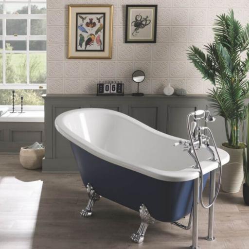 Fordham Bath 1500mm with Feet Set 1