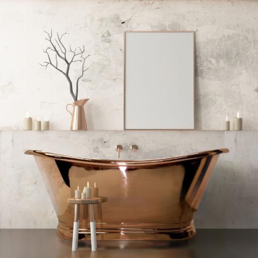 The Copper Boat Bath 1500mm