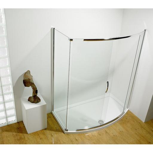 Kudos Infinite Special Door For Bowed Sliding Door Only 700mm